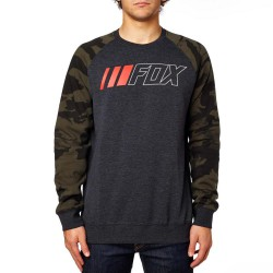 Fox Crewz Crew heather black