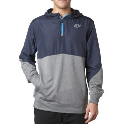 Fox Final Pullover heather graphite