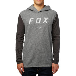 Fox Tranzit Hooded Knit heather graphic