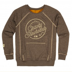 Gravity Connie Crew mocca heather