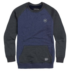 Gravity Icon Crew indigo heather