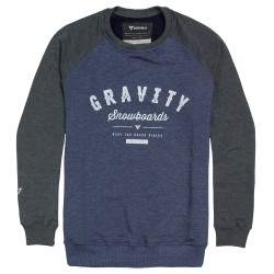 Gravity Jeremy Crew indigo heather