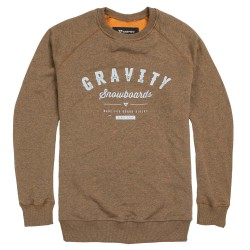 Gravity Jeremy Crew mocca heather