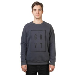 Gravity Square Crew dark grey