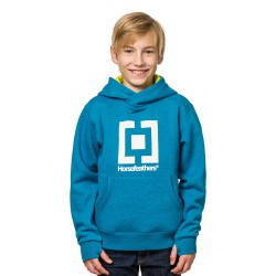 Horsefeathers Leader Kids heather blue
