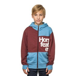 Horsefeathers Max Kids heather wine