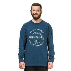 Horsefeathers Timothy heather navy