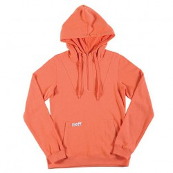 Neff Ws Daily Hoodie coral