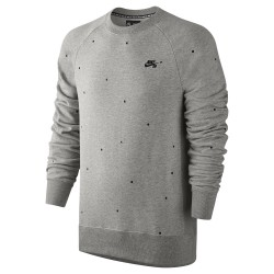 Nike SB Everett Crew dk grey heather/black