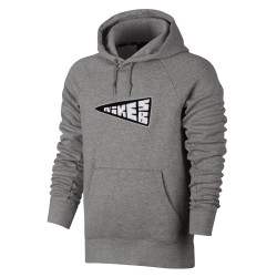 Nike SB Icon Banner Hoodie dk grey heather