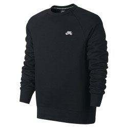 Nike SB Icon Crew Fleece black/white