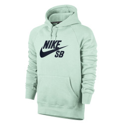 Nike SB Icon Hoodie barely green/obsidian