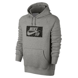 Nike SB Icon Hoodie dk grey heather