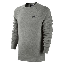 Nike SB Icon Top dk grey heather/black