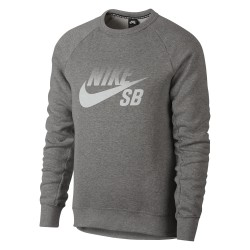 Nike SB Icon Top Logo dk grey heather/white