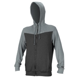 O'Neill Hybrid Zip Hoodie graphite/cool grey