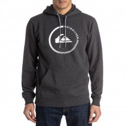 Quiksilver Big Logo Hood dark grey heather