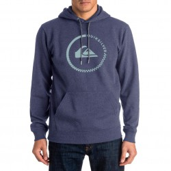 Quiksilver Big Logo Hood navy blazer heather