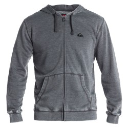 Quiksilver Burn Out Hood Zip J1 dark charcoal