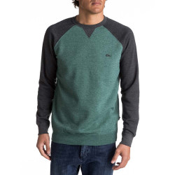 Quiksilver Everyday Crew silver pine heather