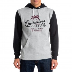 Quiksilver No Longer Hoody light grey heather