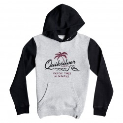 Quiksilver No Longer Hoody Youth light grey heather