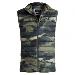 Quiksilver Scaly Sleeveless four leaf clover resin camo