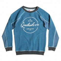 Quiksilver School S Jail Crew Youth indian teal heather