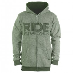 Ride Heathered Full Zip tank