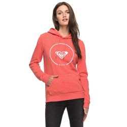 Roxy After Surf Fleece spiced coral heather