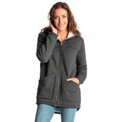 Roxy Waves Feeling Fleece Jacket true black