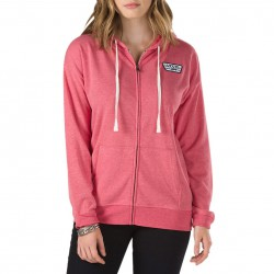 Vans All I Wanna Do Zip Hoodie lollipop