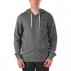 Vans Core Basic Knit Zip Hoodie new charcoal heather