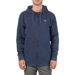 Vans Core Basics Zip Hoodie dress blues heather