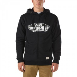 Vans Hessel Zip Hoodie black/indigo bloom