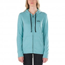 Vans Link Zip-Up Hoodie lake blue heather