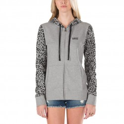 Vans Mute Mile Zip Hooded grey heather