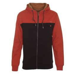 Volcom St Martin Zip Hood maple