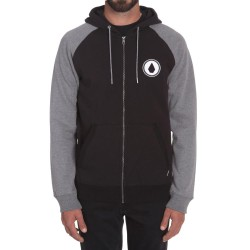 Volcom Stone Pack Zip black combo