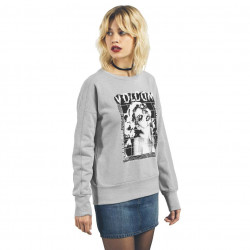 Volcom Walk On By Crew Neck heather grey