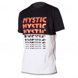 Mystic Drip Quickdry Ss black/white