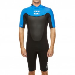 Billabong Foil 2/2 Bz Ss Springsuit black/sea blue/white