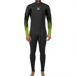 Billabong Xero Revolution 4/3 black/black/lime fade