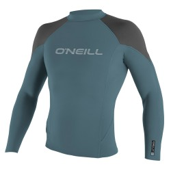 O'Neill Hammer 0,5Mm L/s Crew dusty blue/graphite/black