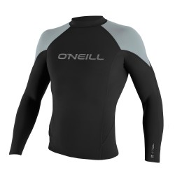 O'Neill Hammer 1,5Mm L/s Crew black/cool grey/brite blue