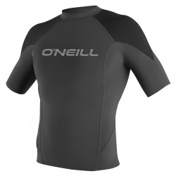 O'Neill Hammer 1mm S/S Crew graphite/black/neon red