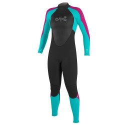 O'Neill Wms Epic 4/3 Full black/light aqua/berry