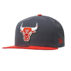 New Era Chicago Bulls 59Fifty Multipop 2 graphite/red