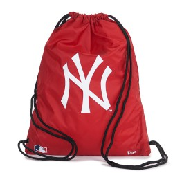 New Era Gym Sack New York Yankees scarlet