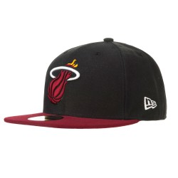 New Era Miami Heat 59Fifty Basic black/red